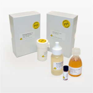 Kits with Conventional Immuno Gold Reagents